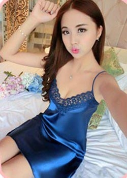 Satin Babydoll (Red, Blue, Royal Blue & Purple)