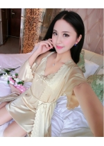 Robe Set with Babydoll Fit to L Good Quality