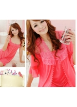 Robe Set with Babydoll Fit to L Good Qualit