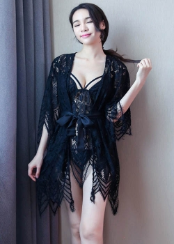 Robe Set with Babydoll Fit to M/L Good Quality