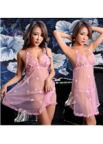 Fly away Back Babydoll Set