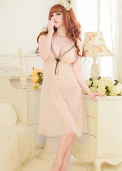 Transparent Babydoll Night wear