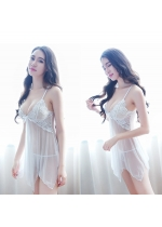 Transparan Babydoll & G-String Good Quality Fit to L-XL