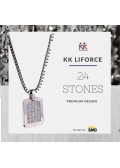 KK Liforce 24 Stone Made in USA Kalung Kesehatan Anti Radiasi & Penambah Stamina Tubuh