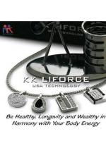 KK Liforce Shell Classic lMade in USA Kalung Kesehatan Anti Radiasi & Penambah Stamina Tubuh