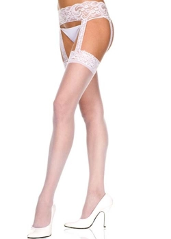 Lace garter Belt with Stocking