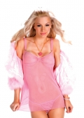 Sensual Mystique Babydoll & G-String ( Cardigan Not Included)