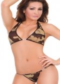 Sensual Mystique Camouflage Bikini Set