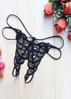 Open Crotch G string